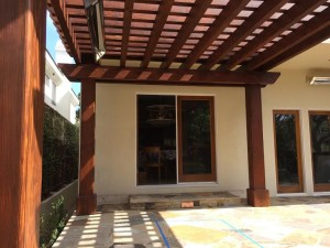 pergola arbor trelli carpentry manhattan beach