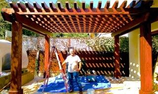 Franco's remodeling Arbor Treli Pergola